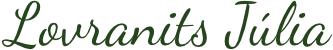 Lovranits Júlia – író, biológus, mesemondó Logo